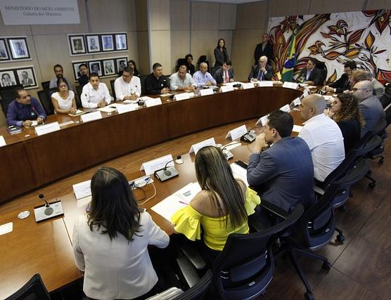 Ministério do Meio Ambiente recebe missão colombiana