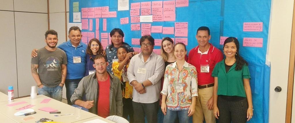 Em Minas Gerais se encerra a etapa de oficinas regionais do SISREDD+