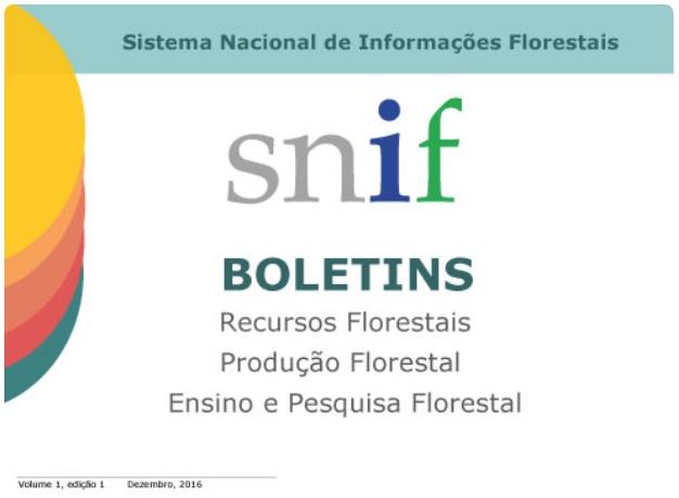 SFB lança boletins com dados atualizados sobre florestas