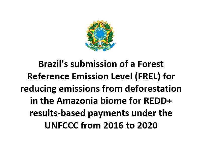 Submetida a versão modificada do FREL C