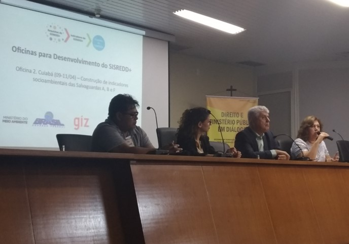 Indicadores de 3 salvaguardas de REDD+ foram tema de oficina regional em Mato Grosso
