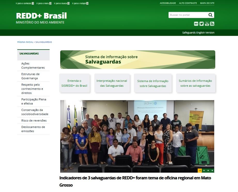 Publicada a primeira versão do SISREDD+ do Brasil
